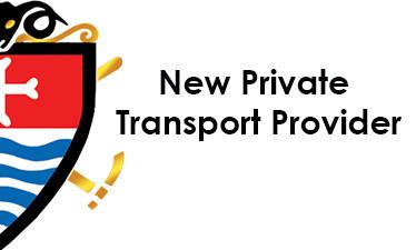 New Private Transport Provider