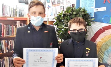 Year 8s Complete Student Librarian Training