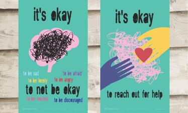 Mental Health Awareness Week at Teign School