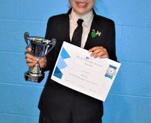 Maya f pride through success award