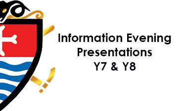 Information Evening Presentations